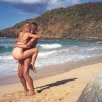 just can't walk onto any beach without getting naked! (fortunately we had a friend with us to ...