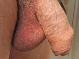 My dick in repose!