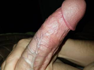 Throbbing cock on a restless night