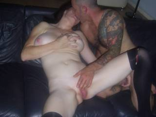 Getting me ready for his great cock