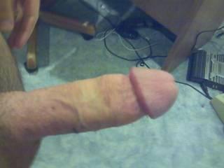 My cock, again.