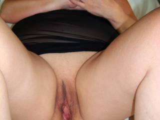 Wife is wet and ready,what would you like to do with her?
