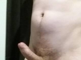 my 28yo uncut cock hard