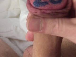 Getting my soft cock hard. Anyone want to help?