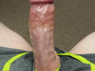 My cock while sexting my wife