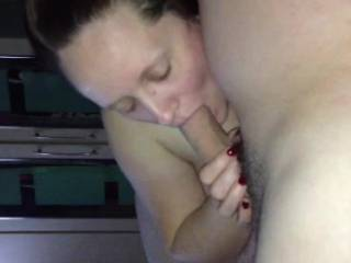 She made his cock so big and sucking him