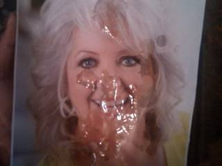 A cum tribute to Paula Deen. I did this one due to the controversy of past comments she made.