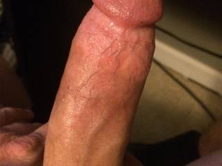 Wishing there was a mouth wrapped around my cock