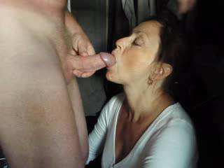 Candi Annie loves to be feed her favorite juice!  She strokes, licks & socks Al's cock until her mouth and face are covered! Enjoy!