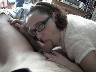 wife sucking some more cock