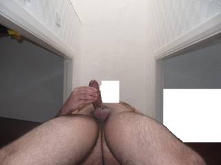 In close to my Cock whilst having a Good Stroke. Any volunteers to come Stroke it for me?