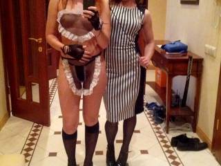 Me and my gf at a hot party, do u like?
