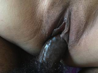 mmm it feels so good inside. i pulled out only for you to see my bbc covered. who wants some of this?  don't be shy.