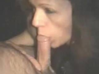 She just cant keep her MOUTH OFF MY COCK. Check out the HUGE STREAM of CUM that THIS WHORE SKUT PULLS FROM MY COCK